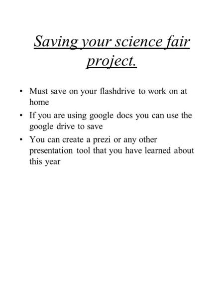 Write my hypothesis for science fair projects