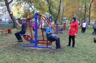 Алтай-Кокс помог обустроить спортивные площадки вЗаринске