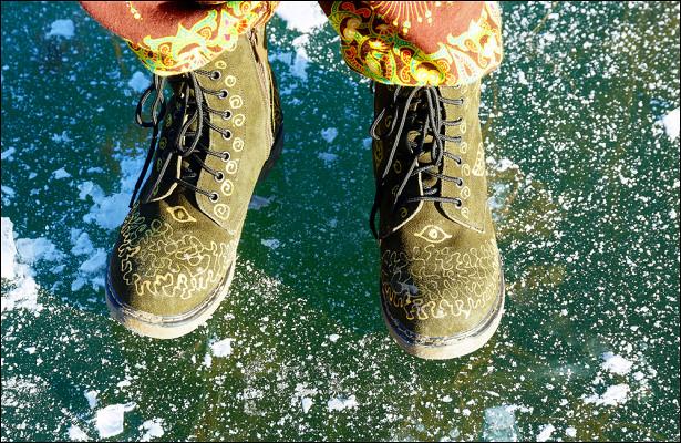 Чтосделать, чтобы обувь нескользила нальду