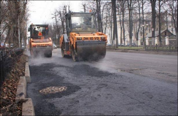 Мэрия Ярославля потребовала завершить ремонт городских улиц к1ноября