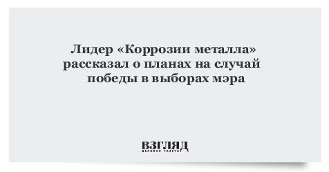 С. Троицкий рассказал освоей предвыборной программе