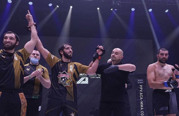 Халиев победил Аморима натурнире ACA117