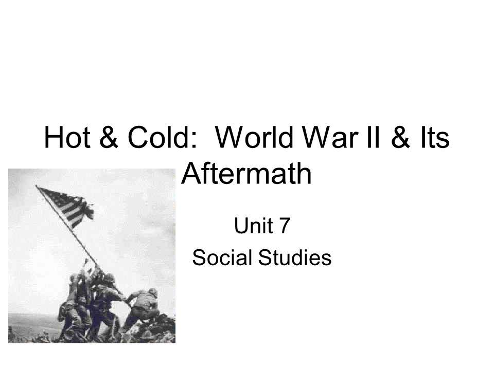War of the world essay