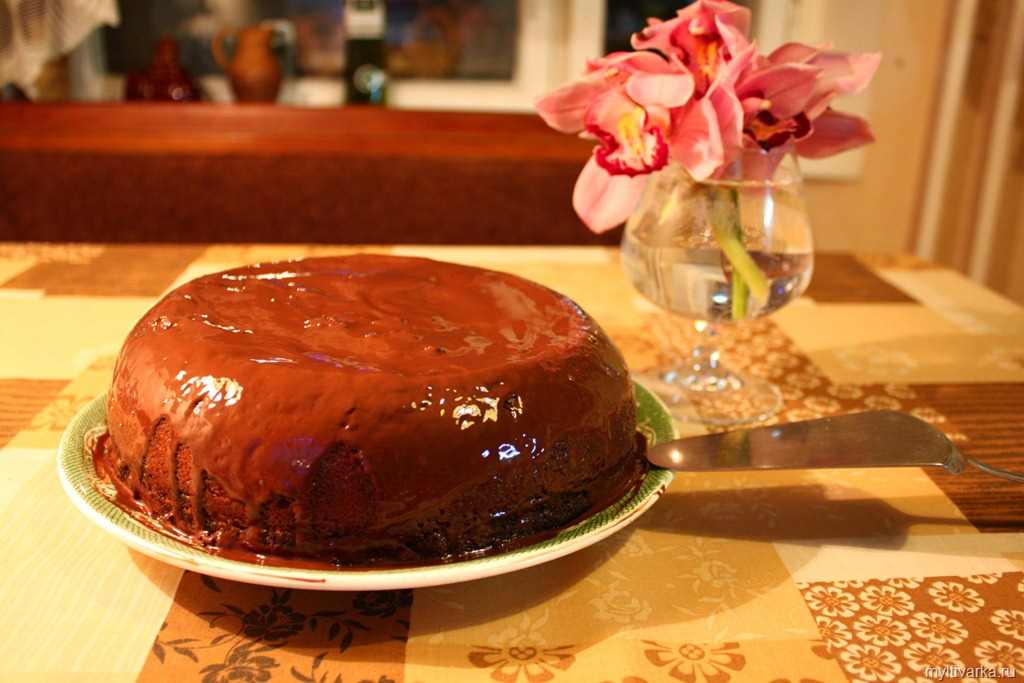 Шоколадні торти рецепти з фото