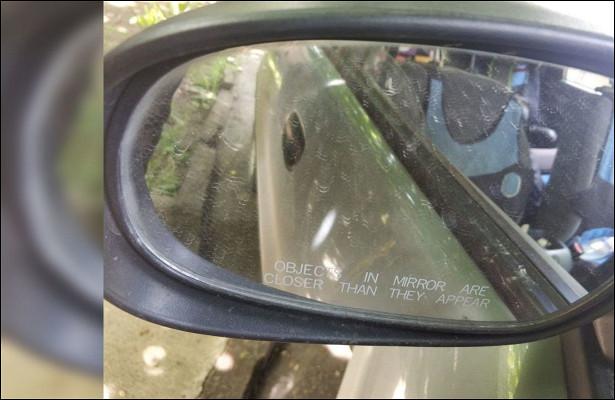 Какуберечь зеркала заднего вида вдождь