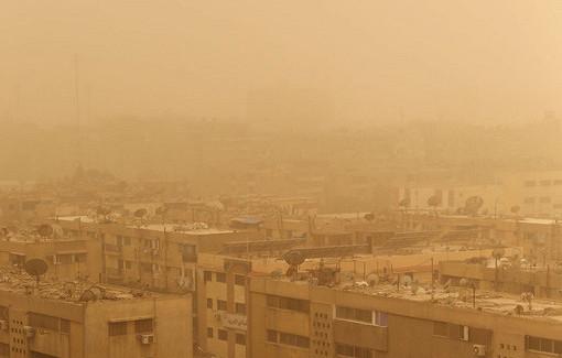 Саудовскую Аравию иКатар накрыла песчаная буря