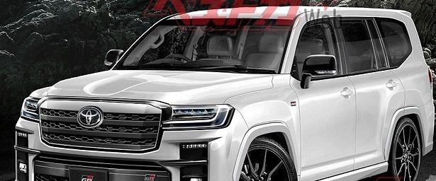 ВСети появились фото нового Toyota Land Cruiser 300