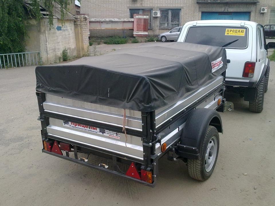 Прицеп для легкового автомобиля в кургане