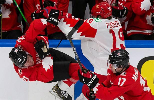 «Испытываю тяжелые чувства. Извиняюсь, чтонетрезультата». Хоккеисты сборной России— опоражении 0:5отКанады