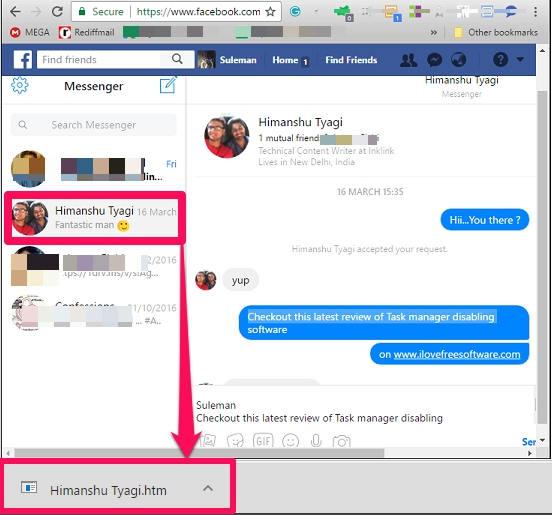 Facebook fr Pocket PC - Download