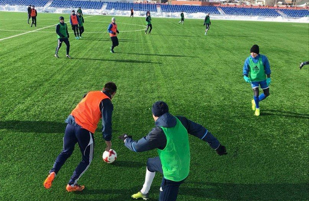 ФК«Сызрань-2003» завершила программу первого зимнего сбора двусторонним матчем