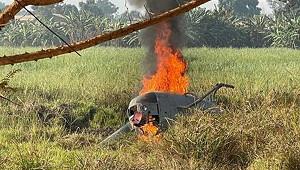 Вертолет сроссийскими военными специалистами разбился вЦАР