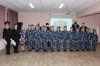 ВВологде новый кадетский класс принял присягу
