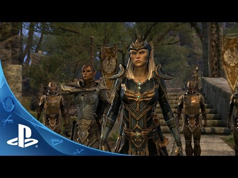 The Elder Scrolls Online Tamriel Unlimited - Gameplay Trailer