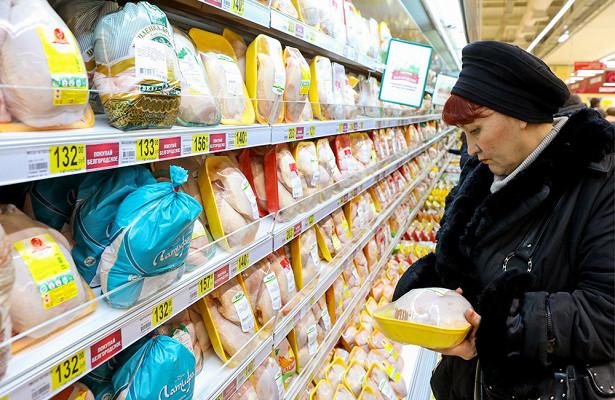 Оценен риск заражения птичьим гриппом через мясо курицы