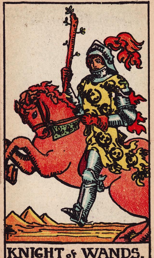 Значение карты таро рыцарь жезлов, толкование карты таро