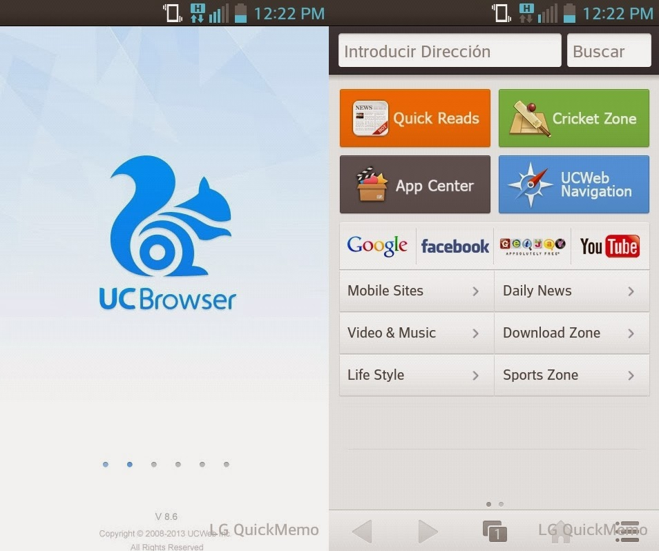 UC Browser 11501015 for Android - Download