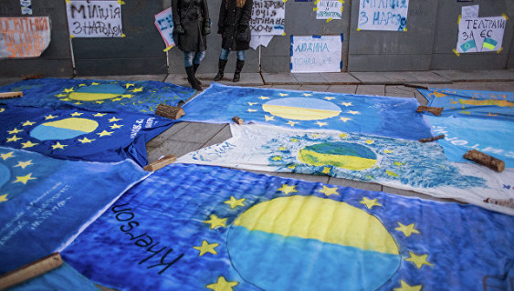 Европарламент опровергает возможность вступления Украины вЕС