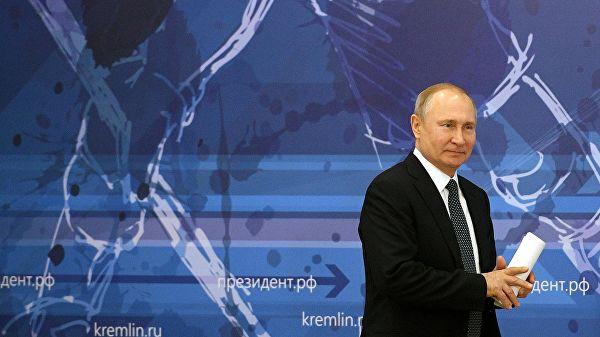 Путин: спорт— этоважное государственное дело