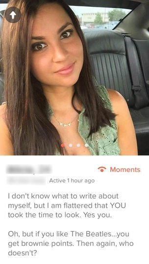 Classic dating profile lines