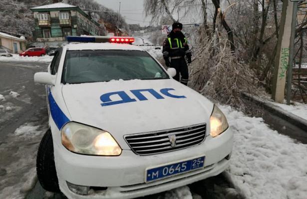 Озвучена актуальная информация одорожной ситуации воВладивостоке