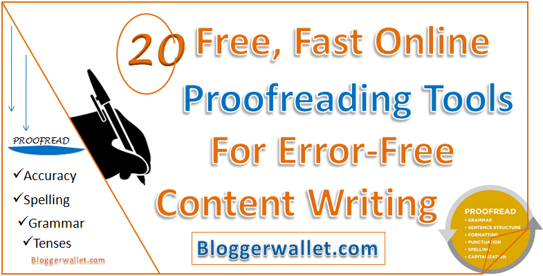 Write my proof read online