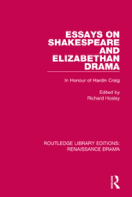 The Structure and Arrangement of the Elizabethan Theater Essay
