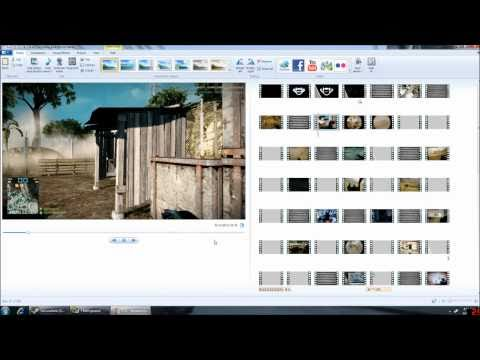 Creating and Editing Movies Using Windows Live Movie Maker