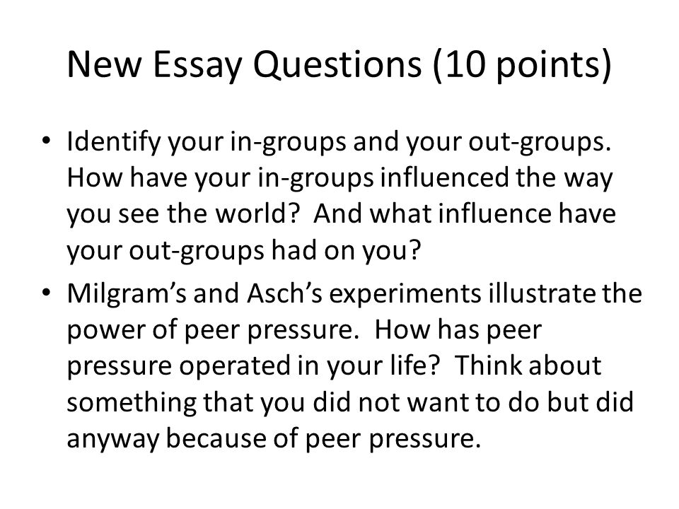 Essay on peer pressure acts as a morale booster