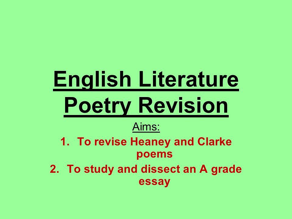 Literature Study - eNotes
