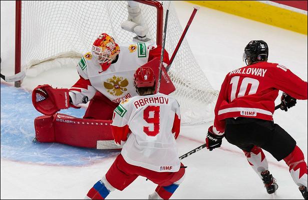 Сборная России похоккею всухую проиграла команде Канады вполуфинале МЧМ