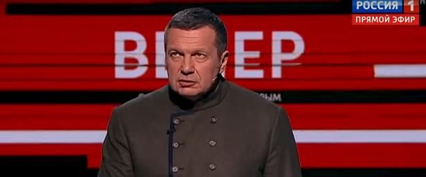 Программа Владимира Соловьева стал самой популярной в2020 году