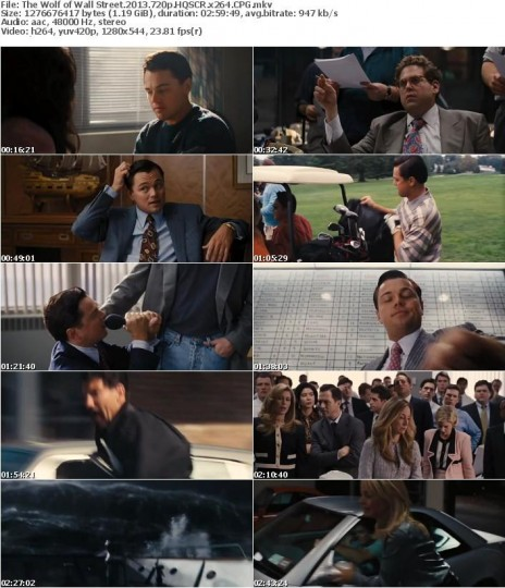 Watch The Wolf of Wall Street Subtitle English 2013