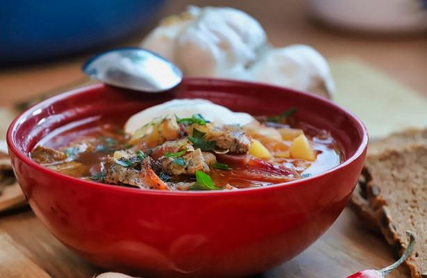 Борщ стал национальным блюдом Украины