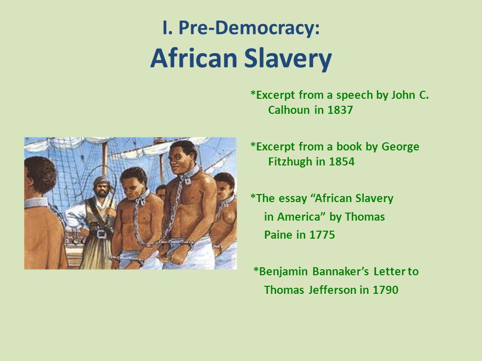 Democracy America Essay - Free Essays - PhDessaycom