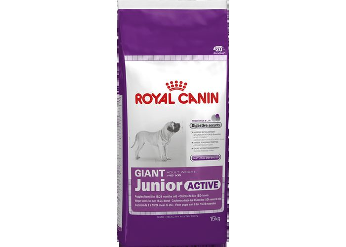 Корм royal canin junior giant puppy