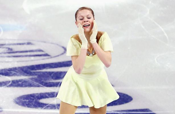 Анастасия Галустян снялась спроизвольной программы Гран-приРоссии