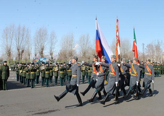 ВКазани более 120курсантов получили лейтенантские погоны