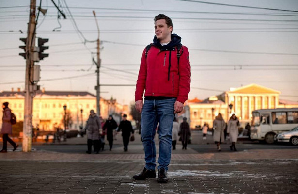 Известный костромской журналист напоследок сделал фотосессию вцентре Костромы