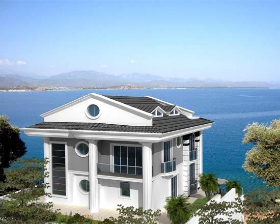 Дом в Лариса на берегу моря цены