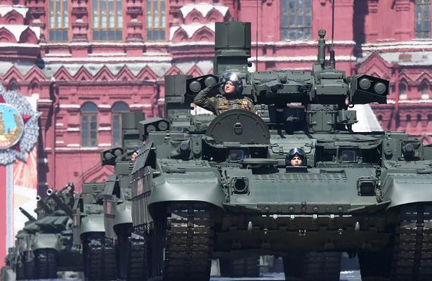Завершился первый этап испытаний боевой машины «Терминатор»