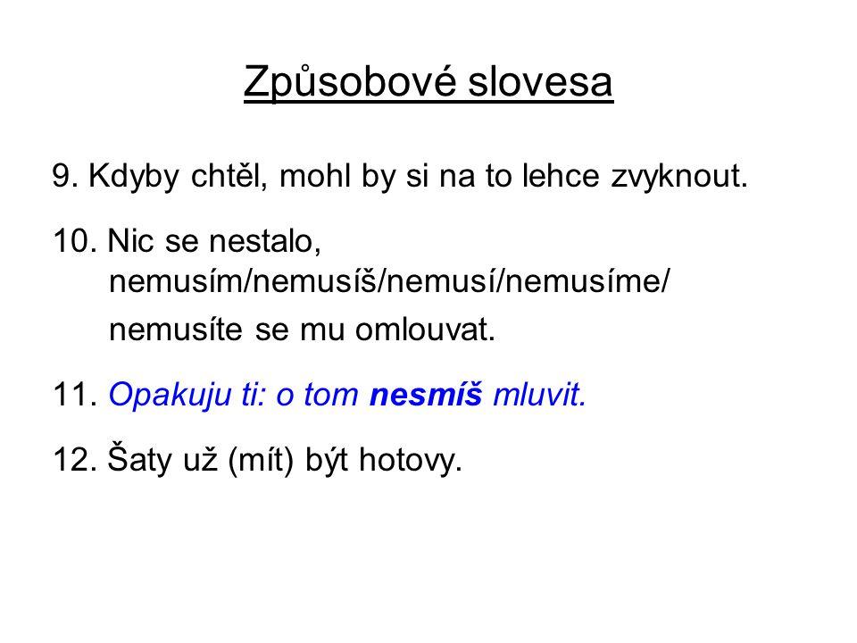 Slovesa kennenlernen