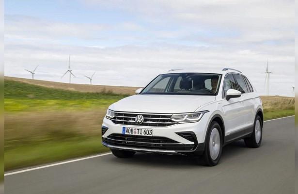 Volkswagen представил новый Tiguan eHybrid
