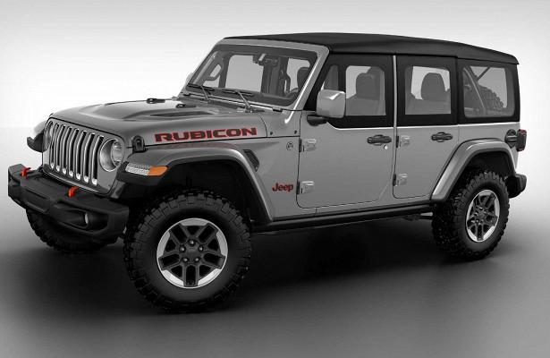 Внедорожник Jeep Wrangler получил «половинчатые» двери