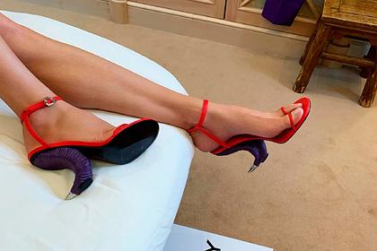 Новые туфли Водяновой подняли насмех ипрозвали копытами