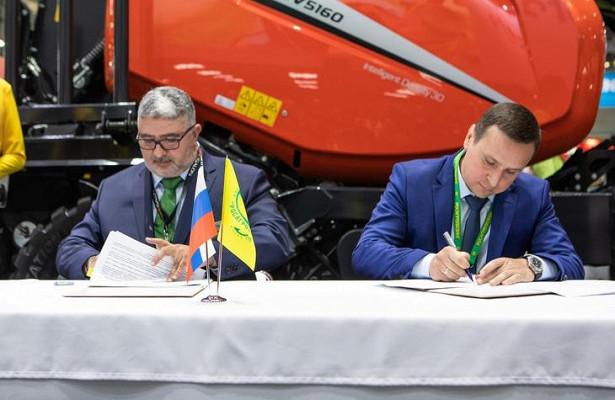 Квернеланд Груп СНГиРосагролизинг подписали новое соглашение на«Агросалон-2020»