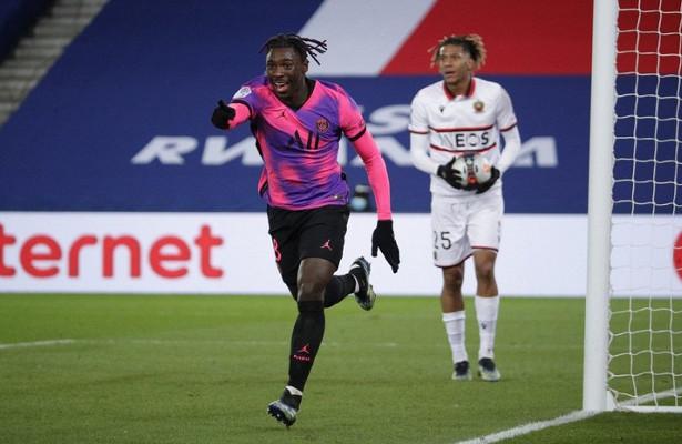 ПСЖпобедил «Ниццу» вматче французской Лиги 1