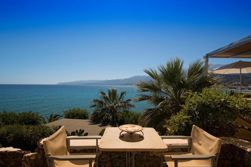 Апартаменты в Крит на берегу моря