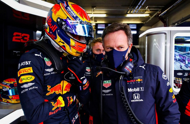 Кристиан Хорнер: Нетгарантий, чтоудругого гонщика неповторятся проблемы Албона