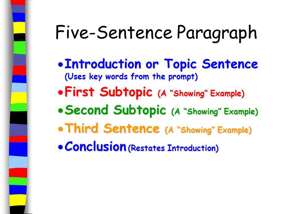 good story starting sentences